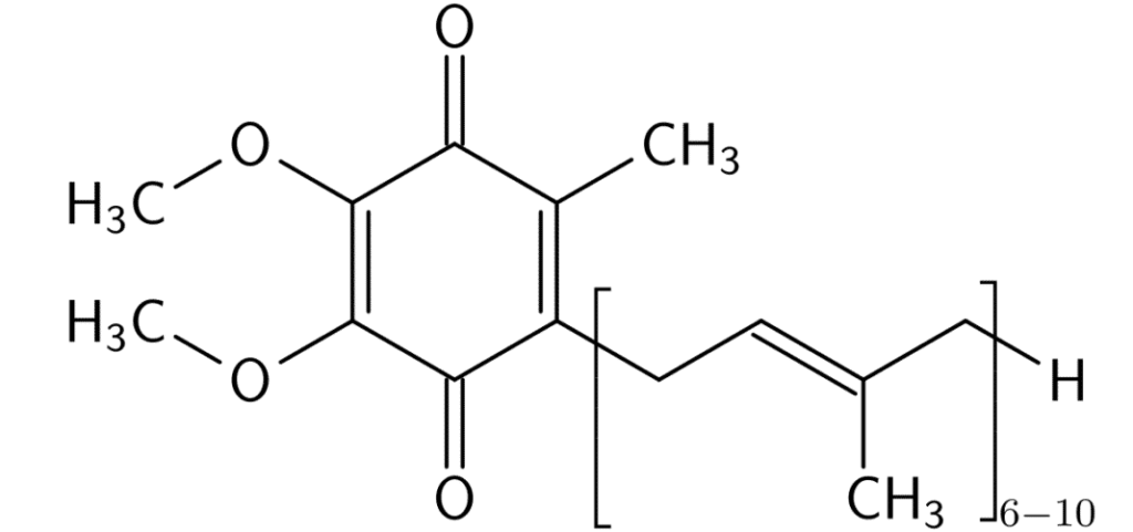 koenzim q10 molekul