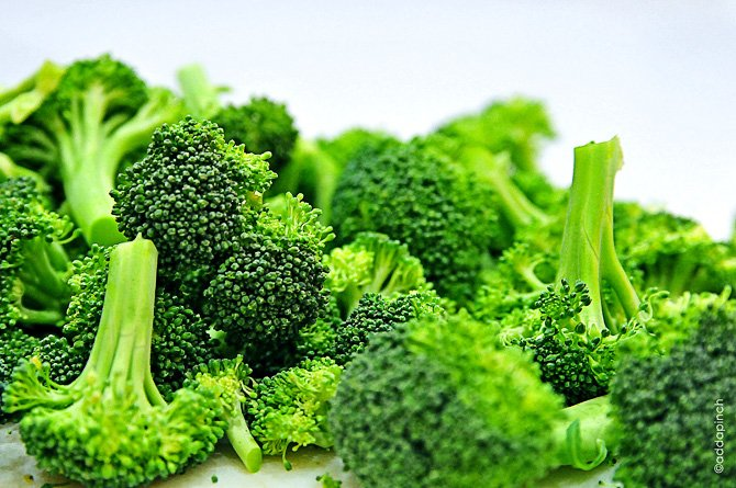 broccoli rich in hemoglobin