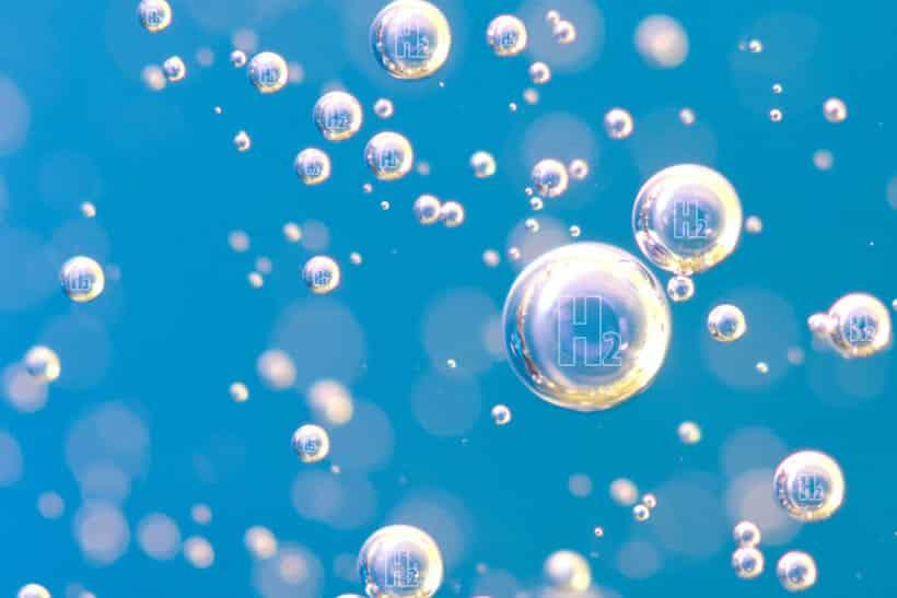 molekularni hidrogen voda