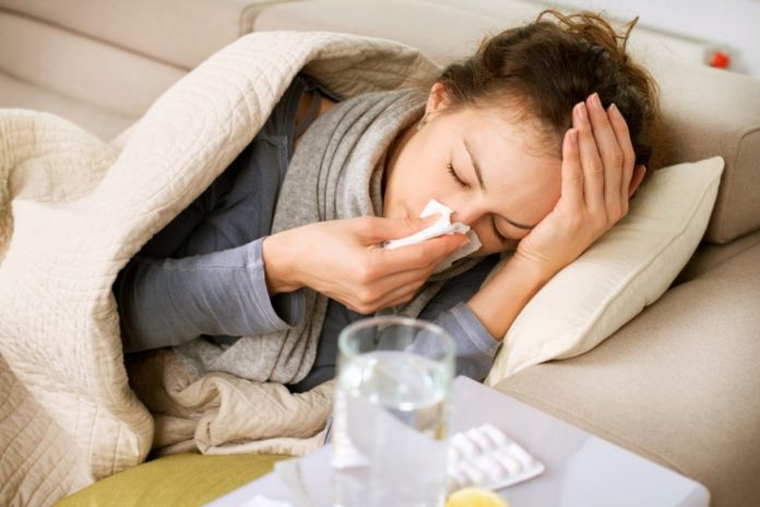 cold inflammation of the respiratory tract