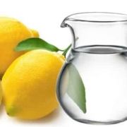 baking soda lemon and water