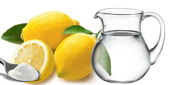 soda bikarbona limun i voda