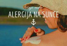 alergija na sunce glavna