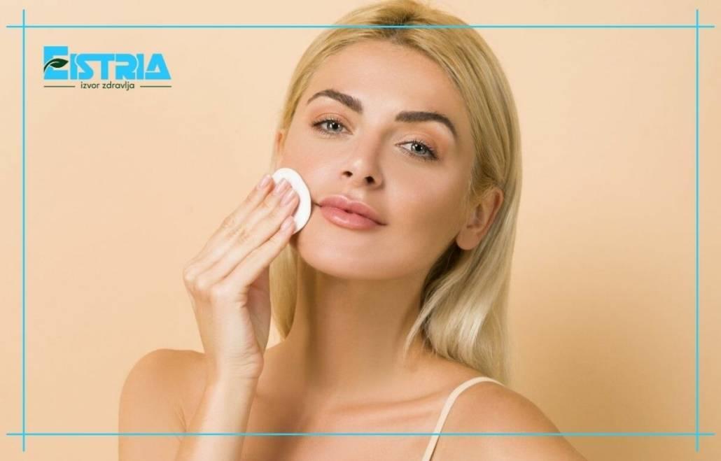почистване на лице водороден прекис